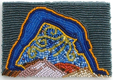 Bead Embroidery Study for Nut Beadwork