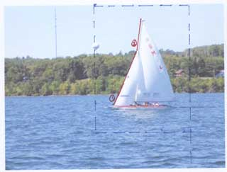 A Plan for Beading the Sailboat Photo