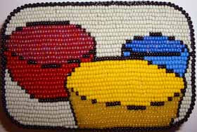 Beading Art with Seed Beads: A Finished Bead Painting